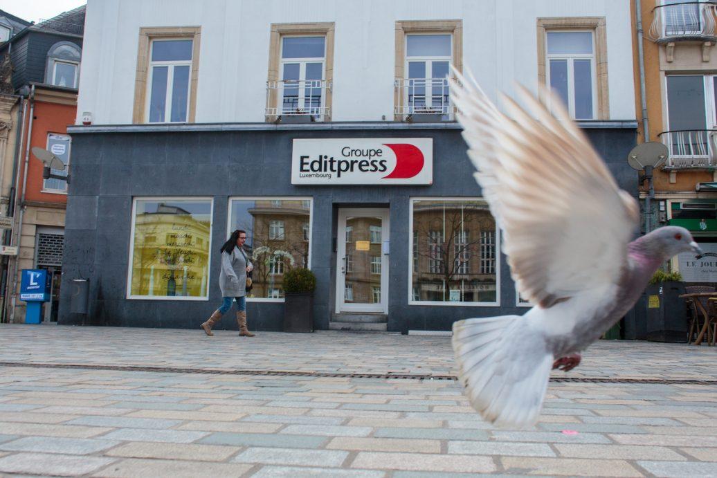 Editpress in Esch/Alzette