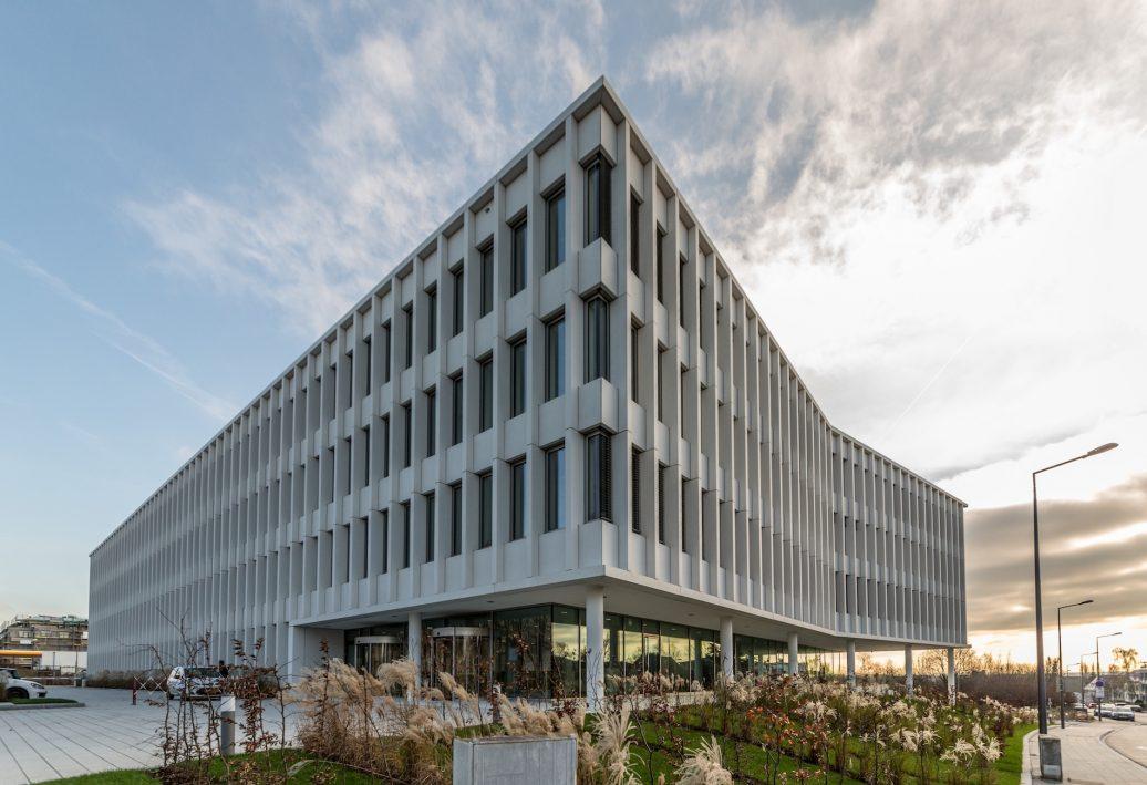 Das Hauptgebäude der CSSF