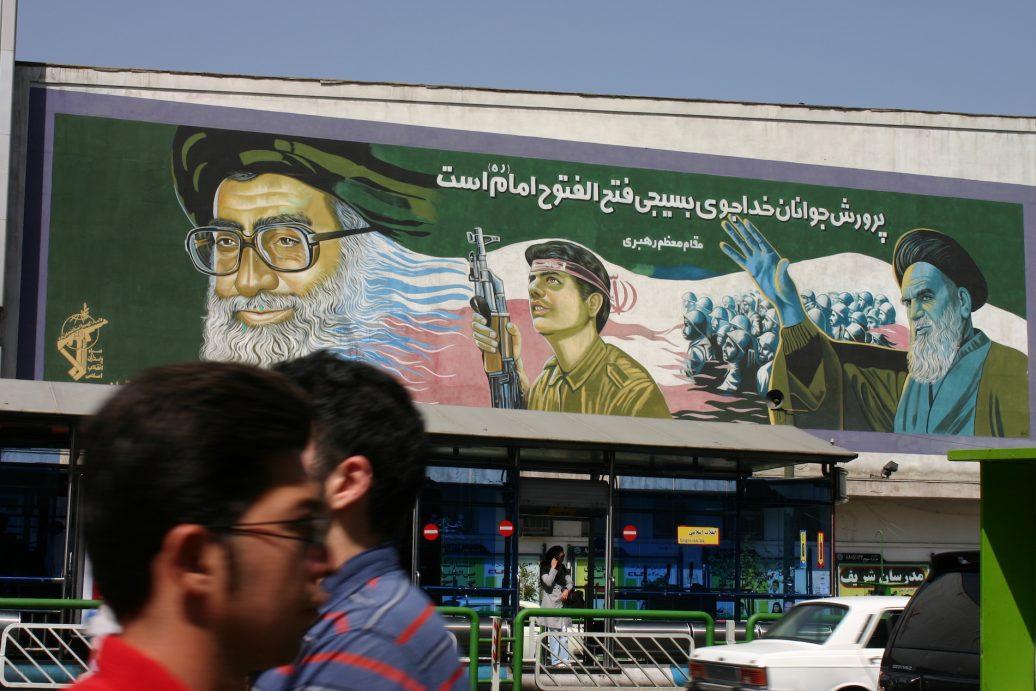 Revolutionäre Propaganda im modernen Teheran