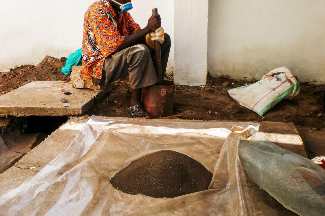 Koltan-Verarbeitung im Kongo