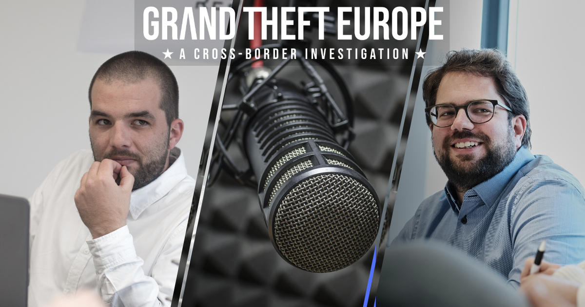 Grand Theft Europe: Der REPORTER-Podcast zur Recherche