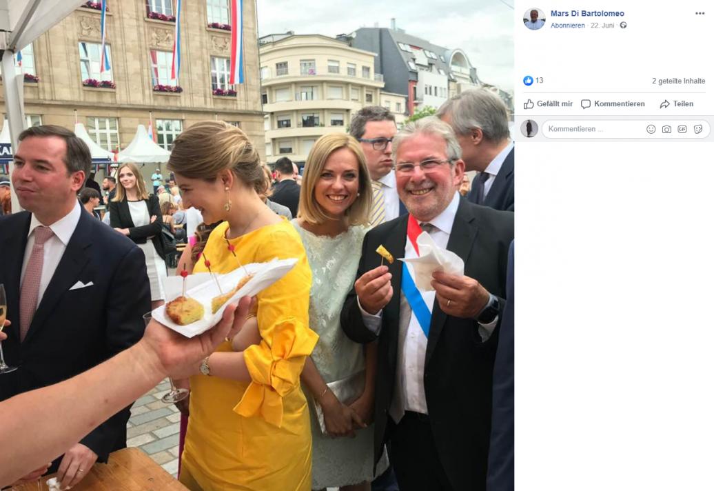 Nationalfeiertag in Esch