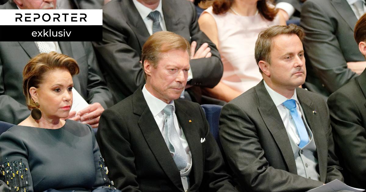 Regierung kontrolliert Personalpolitik des großherzoglichen Hofes - REPORTER