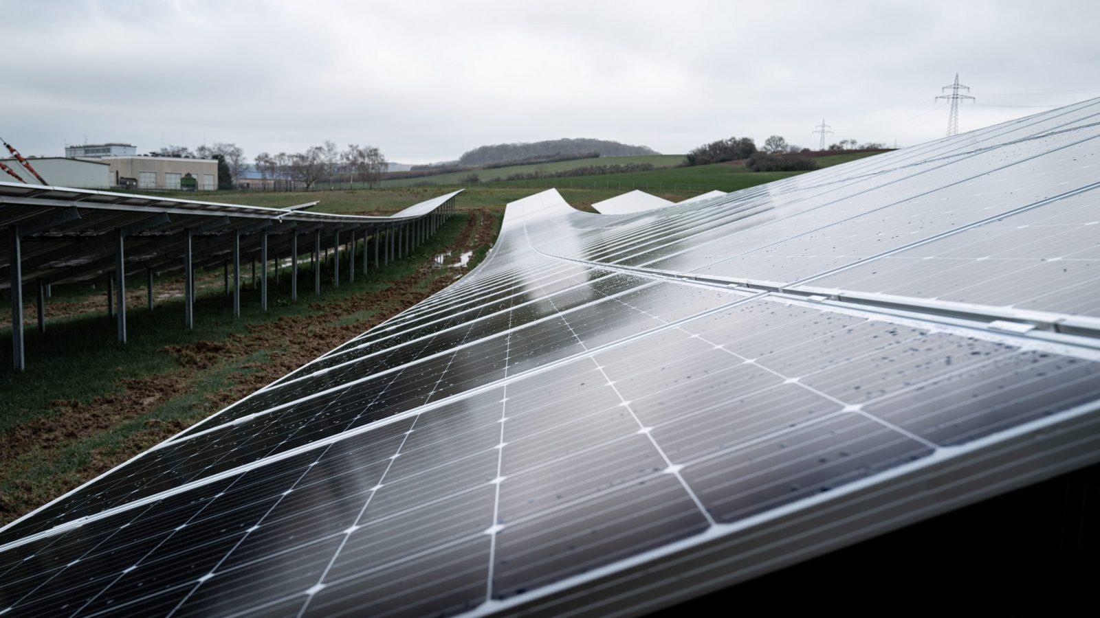 Erneuerbare Energie: 20 neue großflächige Solaranlagen geplant - REPORTER