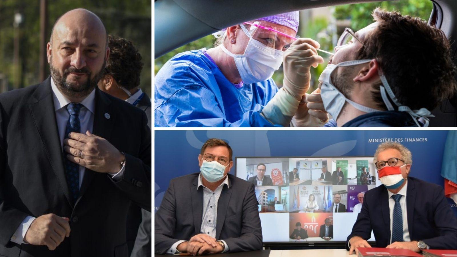 Best-of Mai: Ein neues Leben, ein umtriebiger Banker und verzögerte Massentests - Reporter.lu