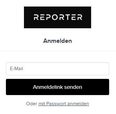 Einloggen e mail